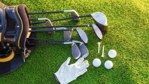 Equipment for playing golf