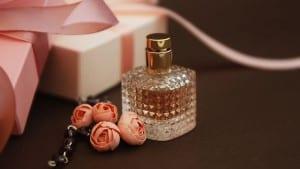 Womens Pink Perfume in Beautiful Bottle