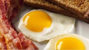 breakfast is sunny side up