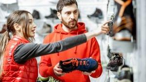 choosing trail shoes for hiking