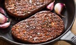 meet free savoury flavour grillsteak