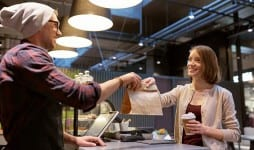 small business food people service concept