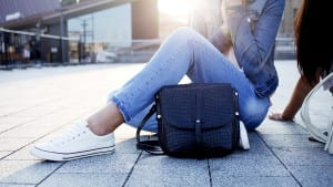 tylish leather bags and backpacks sneakers